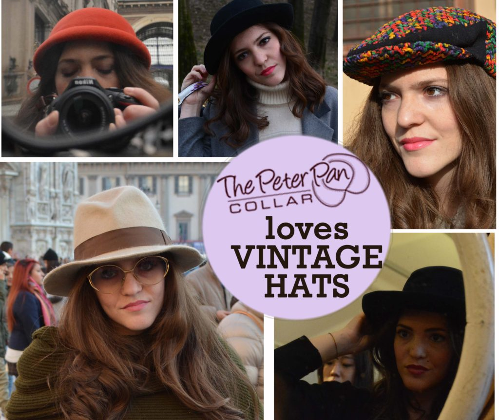 cappelli vintage -  milano vintage week -  the peter pan collar - blog