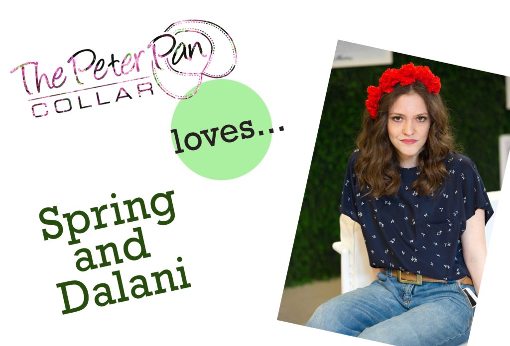 the peter pan collar and dalani