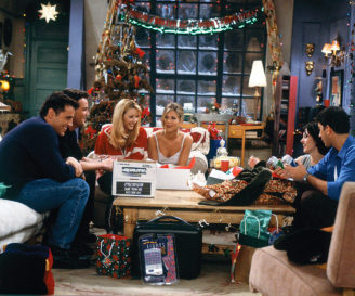 Regali di Natale per i personaggi di Friends